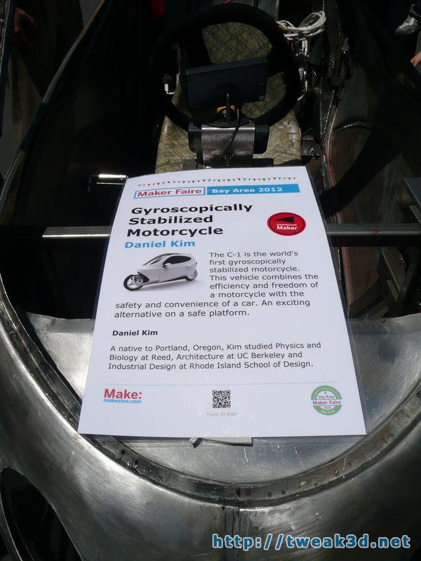 Lit Motors C1 Price >> Lit Motors C1: gyroscopically stabilized enclosed motorcycle | Tweak3D